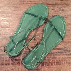 New/Never worn LL Bean sandals